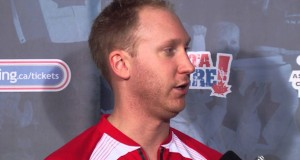 Playoff 3 vs 4 Media Scrum – 2013 Ford World Men's Curling Championship