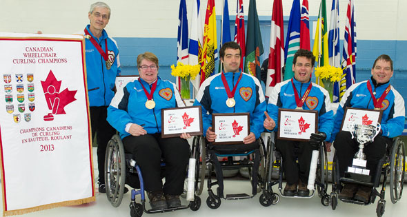 Award Winners at 2013 Canadian Wheelchair Championship