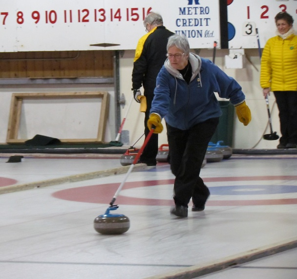 Ruth Stavert, Cornwall Curling Club (Photo Curl PEI)