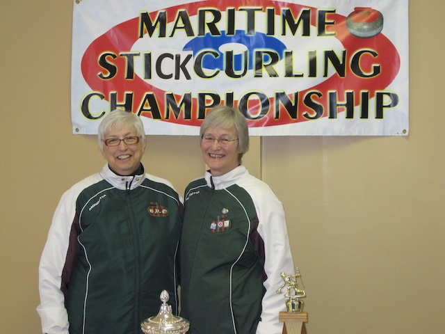 Gloria Clarke and Ruth Stavert (Photo Curl PEI)