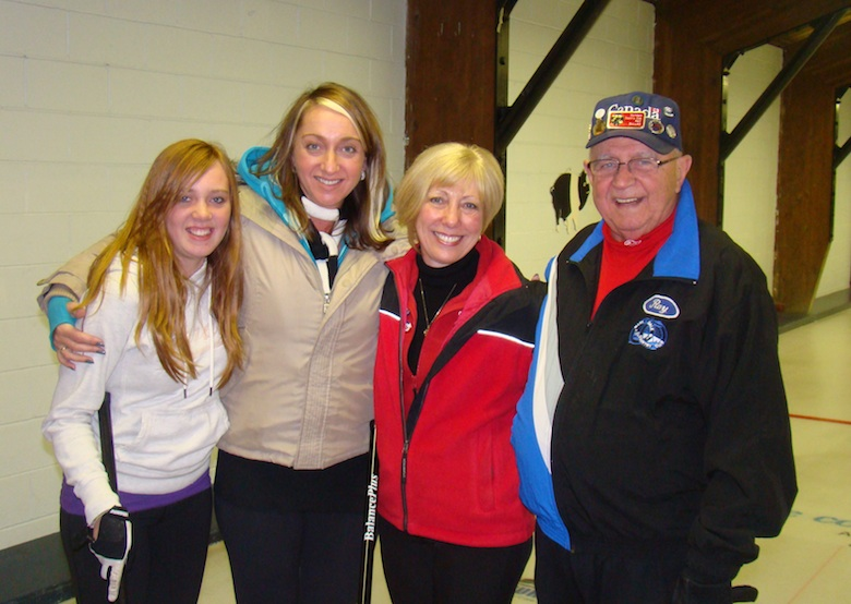 The Fearsome Foursome: Kaylene, Jolene, Wendy and Ray (Photo courtesy W. Bodhaine)