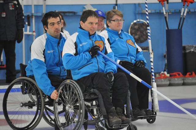 Sebastien Boisvert, Benoit Lessard et Johanne Daly (CCA Photo)