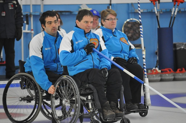 Boisvert, Benoit Lessard and Johanne Daly (CCA Photo)