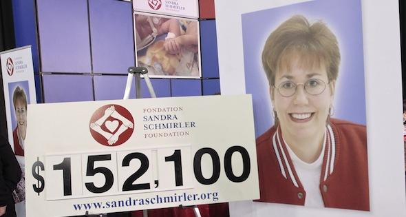 Sandra Schrmirler, dont la mémoire est honorée durant la Fondation Sandra Schmirler collectes de fonds annuelle au Tournoi des Coeurs Scotties, sera présenté en 2014 sur un timbre émis par Postes Canada. (Photo, CCA / Andrew Klaver)