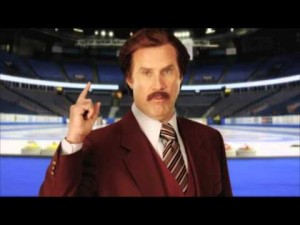 Ron Burgundy joins TSN for the Tim Hortons Roar of the Rings
