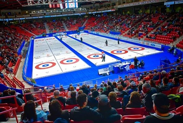 Mosaic Place de Moose Jaw, Sask., sera l'hôte de la Tournoi des Coeurs Scotties 2015.