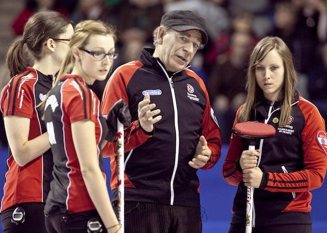 Earle Morris avec l'Equipe Ontario (Photo CCA/Andrew Klaver)