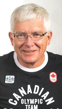 Team Canada coach Tom Coulterman
