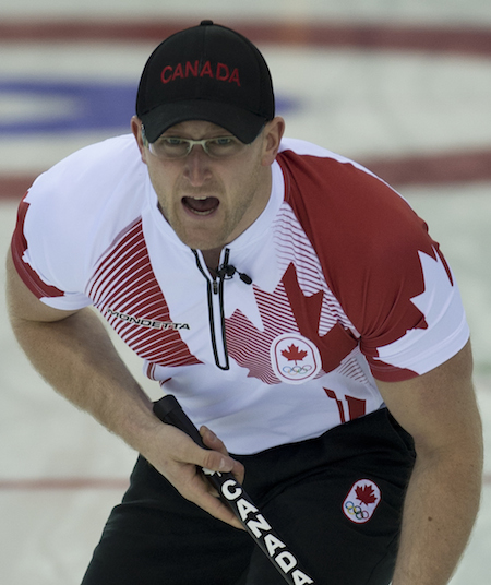 Ryan Harnden d'Équipe Canada. (Photo, ACC / Michael Burns)