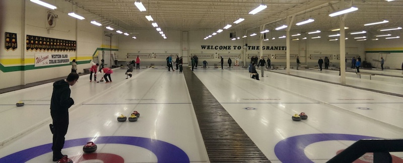 The Curling with Pride league includes 18 teams, with another 10 curlers on the spares list (Photo courtesy J. Fox)