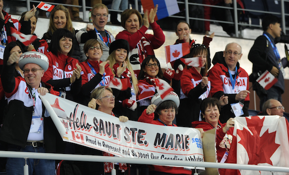 Canadian fans had plenty to cheer about during the 2013-14 curling season. (Photo, Canadian Curling Association/Michael Burns)